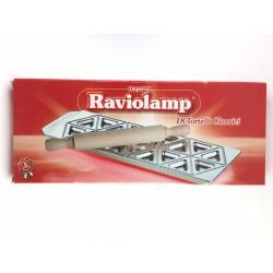 Stampo In Alluminio Per 18 Tortelli Classici Raviolamp