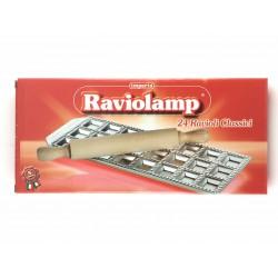 Stampo In Alluminio Per 24 Ravioli Classici Raviolamp