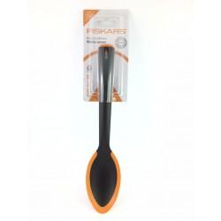 Cucchiaio Con Bordo In Silicone Per Antiaderente Cm.30 Fiskars