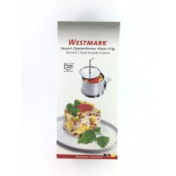 Kit Porzionatore Tondo In Acciaio Alimentare 4 Pezzi Westmark