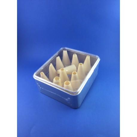 Cornetti Assortiti In Plastica Per SaccaPoche Pz.12