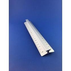 Righello Triplo Decimetro Cm.30 In Alluminio Arda