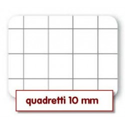 Quadernone a Quadretti 10mm Copertine Assortite