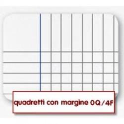 Quadernone a Quadretti 5mm-0q Con Margine Copertine Assortite