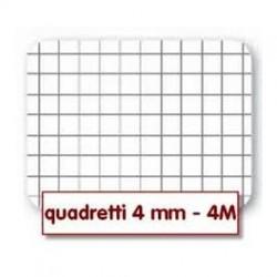 Quadernone a Quadretti 4mm Copertine Assortite