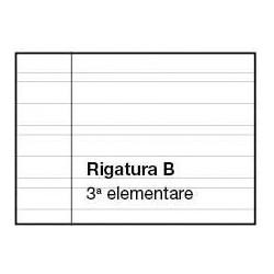 Quadernone a Righe 0B Con Margine Copertine Assortite