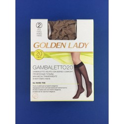 Gambaletto Velato Melon Golden Lady Conf.Da 2 Paia