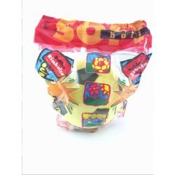 Pallone di Spugna Soffice, Rimbalza, 22 cm, SOFT BALL MONDO