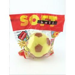 Palla di Spugna Soffice,Rimbalza, 12 cm, SOFT BALL MONDO