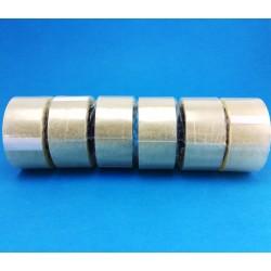 Confezione Nastro Adesivo Trasparente da 6 Pezzi, 48x66 mm