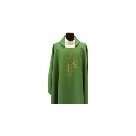 Casule 100% in poliestere, con Ricamo fronte e retro nei 4 colori liturgici 42,70 € r002929