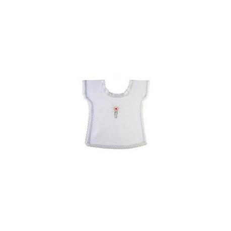 Vestina battesimo in cotone con disegno candela 1,70 € R000319-1