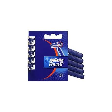 Lamette Gillette Blue II Confezione 5 Pezzi