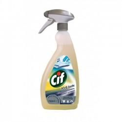 Cif 10 e Lode, Detergente per Inchiostri e Macchie Difficili, Pro Formula Diversey, Flac. 750 ml