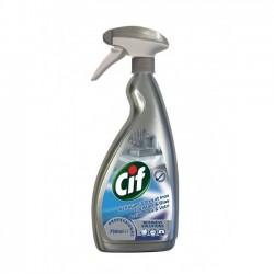 Cif Acciaio Inox e Vetri, Pro Formula Diversey, Flac. 750 ml