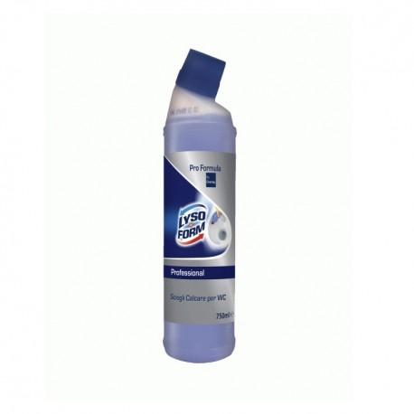 Lysoform Calcare WC, Disincrostante  con  Pro Formula Diversey, Flac. 750 ml