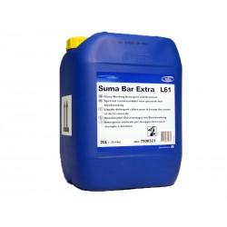 Suma Bar Extra L61, Lavaggio Meccanico Stoviglie Concentrato, Pro Formula Diversey , Tanica 20 LT