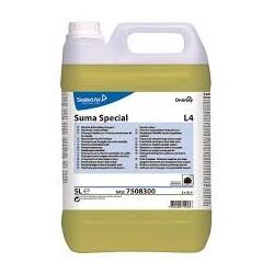 Suma Special L4, Detergente Concentrato Lavaggio Meccanico Stoviglie, Pro Formula Diversey, Tanica 20 LT