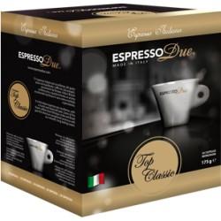 Capsule Espresso Due, Top Classic, Confezione da 25 Capsule.