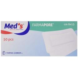 Medicazione Sterile Adesiva Farmapore MED+S 10 X 10 Conf da 50 Pz