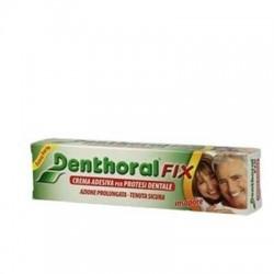 Crema Adesiva per Protesi Dentali DENTHORAL FIX Insapore 45 GR