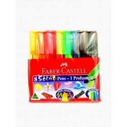 Faber Castel I Profumelli  8 Pennarelli Colorati e Profumati