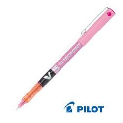 Penna a Sfera ad Inchiostro Liquido Pilot  a Punta Fine, Colore Rosa, conf. da 12