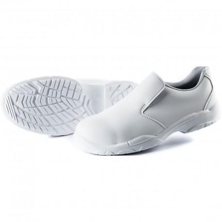 Mocassino di Sicurezza Modello Silver Techno Safe Bianco