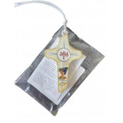 Croce per Prima Comunione LAL da 8 Cm.