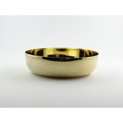 Ciotola semplice diametro 16 dorata